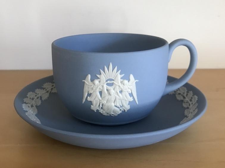 ウェッジウッドのカップ
