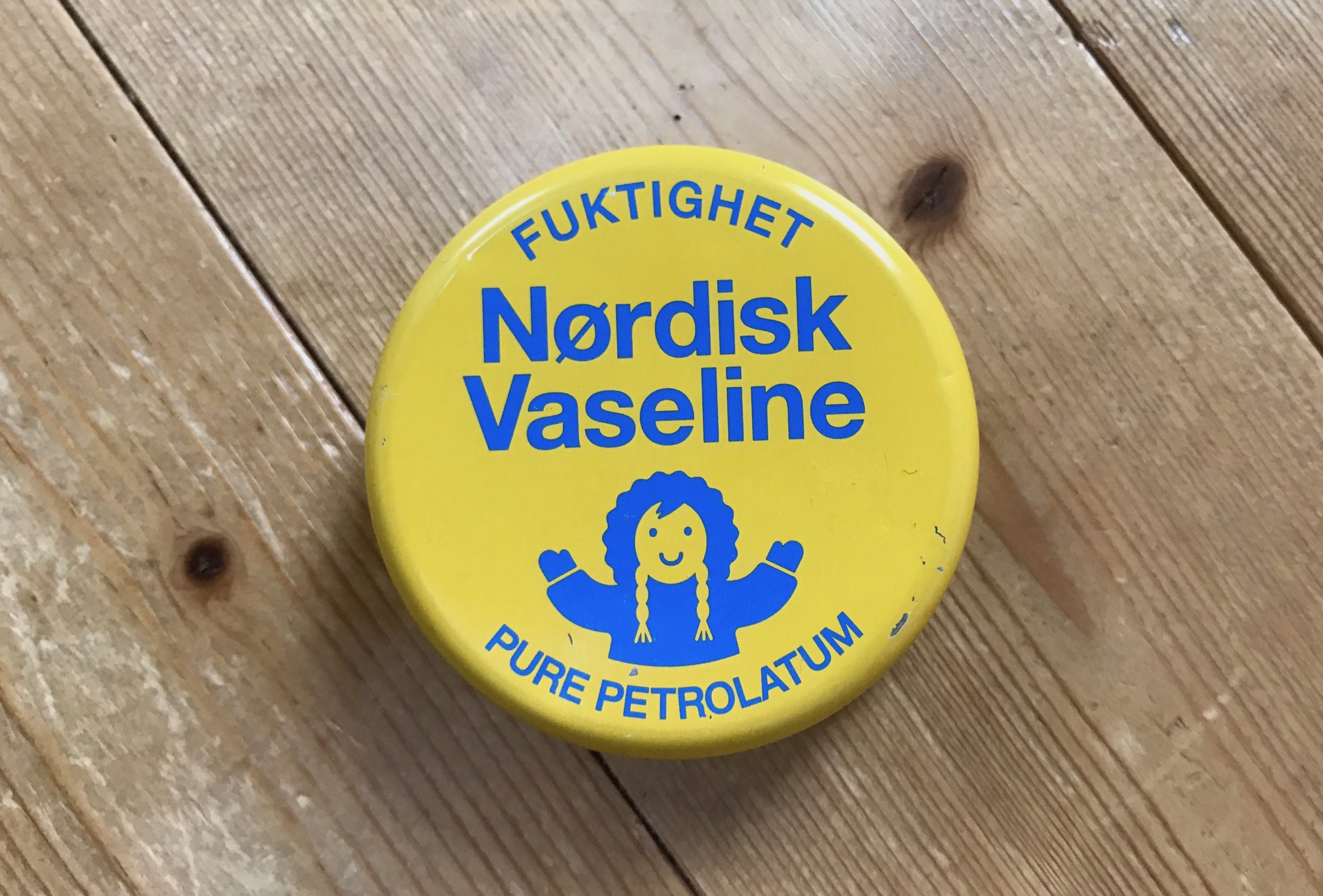 ワセリンの缶