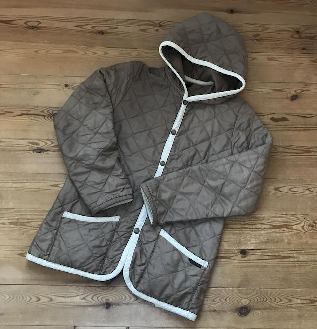 染め直したジャケット