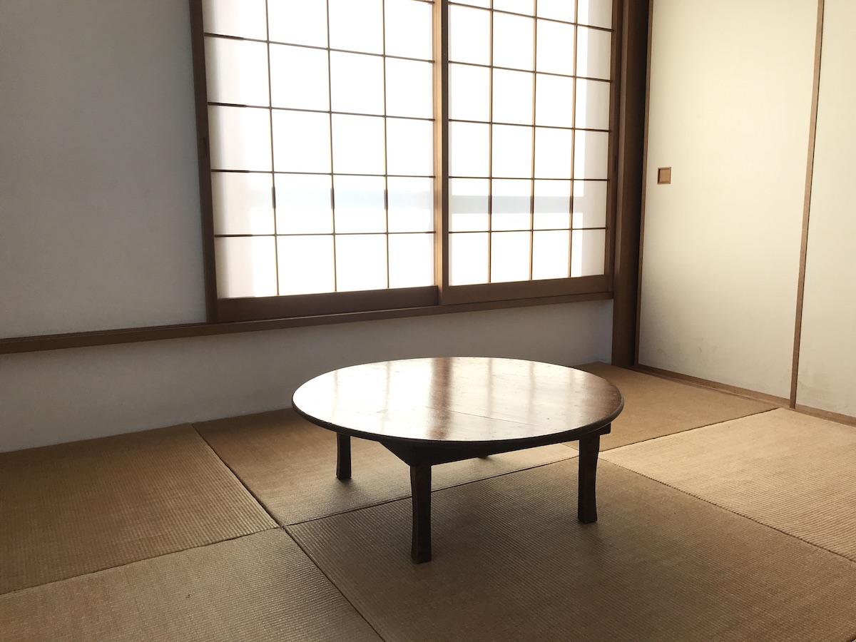 和室のちゃぶ台